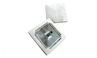 Features heavy gauge rubber exterior surrounding a foam core