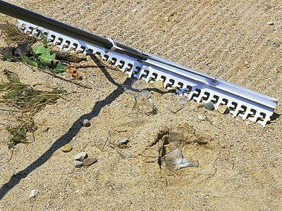 Photo: Screening rake