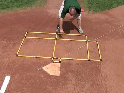 Photo: Batter's box template